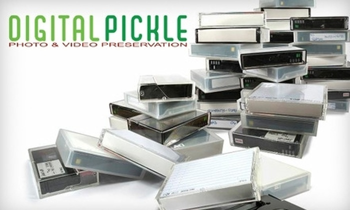 Digital Pickle - SoMa: $39 for $90 Worth of VHS to DVD Conversion from Digital Pickle