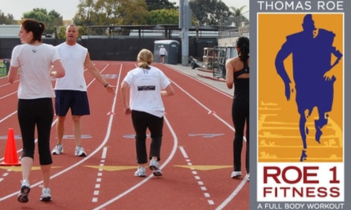 Roe 1 Fitness - Multiple Locations: $30 for Eight Outdoor Circuit-Training Sessions from Roe 1 Fitness ($175 Value)