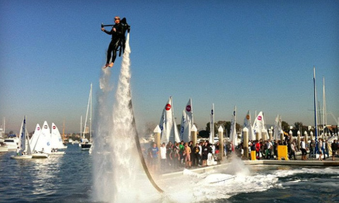 Jetlev Southwest - Jetpack America - Newport Beach: $199 for a Water-Powered Jetpack Flight Experience with Video from Jetlev Southwest in Newport Beach (Up to $399 Value)