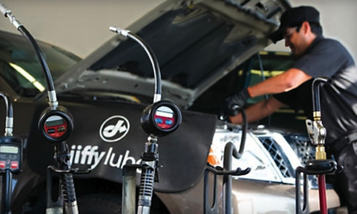 Jiffy Lube - Multiple Locations: $35 for Jiffy Lube Signature Service Oil Change, Tire Rotation and Rain-X Original Glass Treatment (Up to $70.97 Value)