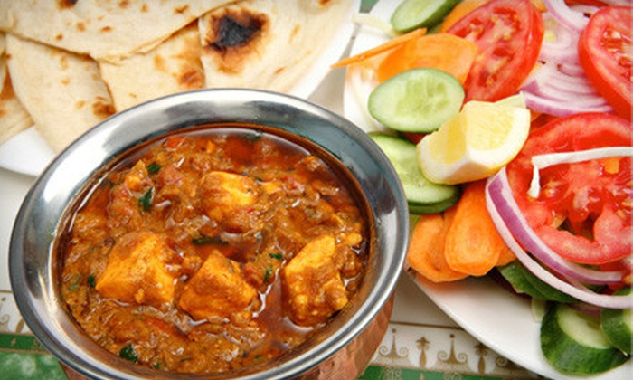Madras Palace - Multiple Locations: $12 for $24 Worth of Indian Fare and Drinks at Madras Palace in Scarborough. Two Locations Available.
