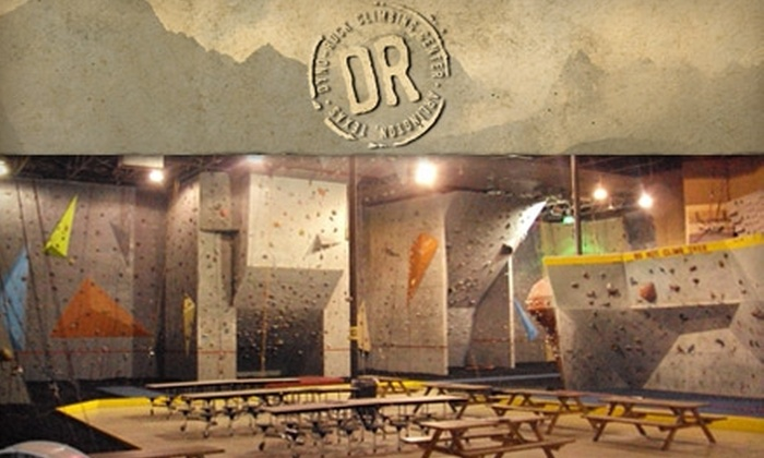Dyno-Rock - Arlington: $30 for One Month of Climbing and Gear at Dyno-Rock