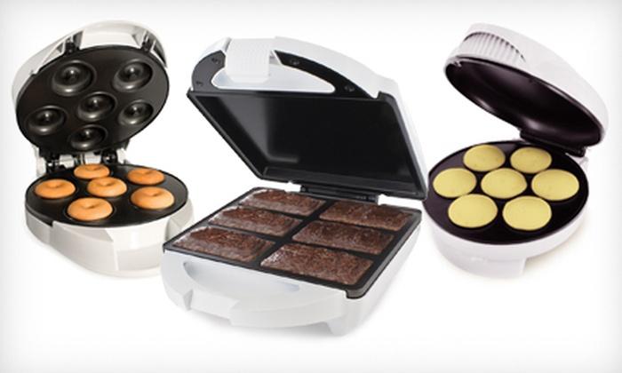 Smart Planet Dessert Makers: $15 for a Smart Planet Brownie-Bar Maker, Mini-Cupcake Maker, or Mini-Donut Maker ($29.99 Value)