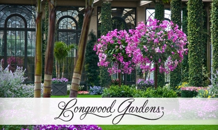 9 for longwood gardens admission longwood gardens groupon for Longwood gardens discount tickets