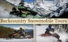 Colorado Backcountry Rentals - Kremmling: $89 for a Two-Hour Backcountry Snowmobile Tour for Two
