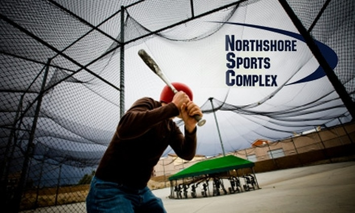 Northshore Sports Complex - North Industrial: $15 for a One-Hour Rental of Batting or Pitching Cages at Northshore Sports Complex ($40 Value)