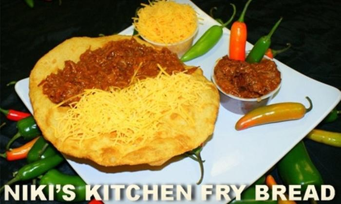 Niki's Kitchen Fry Bread - Mesa: $5 for $10 Worth of Native American Fare at Niki's Kitchen Fry Bread in Mesa