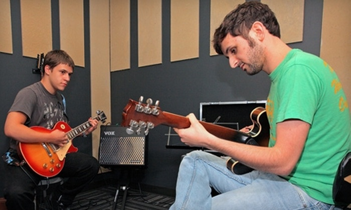 School of Rock - Allandale: $50 for Three Private Music Lessons at School of Rock ($195 Value)