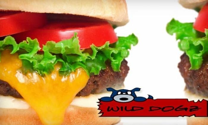 Wild Dogz Restaurant - Evanston: $4 for $8 Worth of Hot Dogs, Gyros, and More at Wild Dogz Restaurant in Evanston