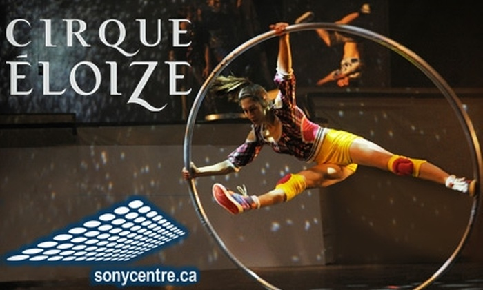 Cirque Éloize iD - Downtown Toronto: $27 Admission to Cirque Éloize at Sony Centre ($55.50 Value). Three Nights Available.