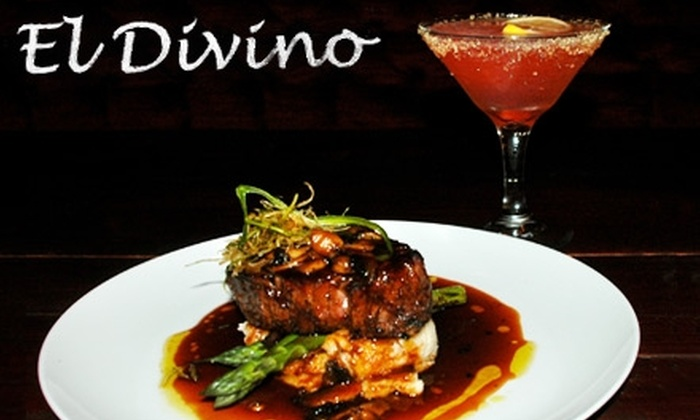 El Divino - McAllen: $15 for $30 Worth of Upscale Contemporary Cuisine at El Divino in McAllen