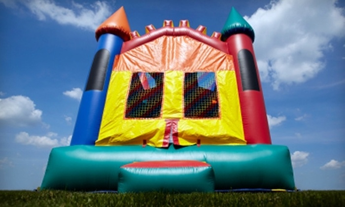 K.E.C. Party Rentals - East Longmeadow: $50 for $100 Toward Inflatable Party Bouncers, Interactive Games, and Slide Rentals from K.E.C. Party Rentals