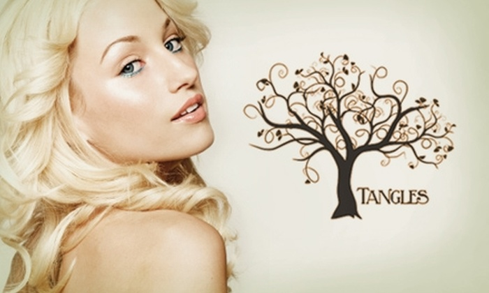 Tangles Hair Design - Fort Wayne: $30 for $65 Worth of Salon & Spa Services at Tangles Hair Design