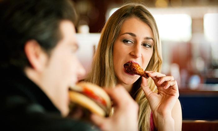 T-Bones Sports Pub - Lazy Brook - Timbergrove: Pub Dinner for Two or Pub Fare at T-Bones Sports Pub