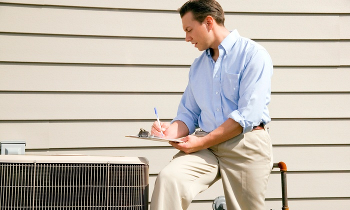 United Heating And Air Conditioning - in home: Air-Conditioner Tune-Up with Option for Furnace from United Heating And Air Conditioning (Up to 56% Off)