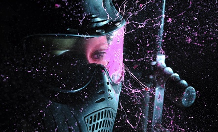 All-Day Admission, 300 Paintballs, Protective Vest, and Marker Rental for 1 - Brew City Paintball in Waukesha