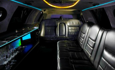 4-Hour Limo-Rental Package with Chauffeur Service in a 6-Passenger Stretch Limousine (a $350 value) - G-Limos in