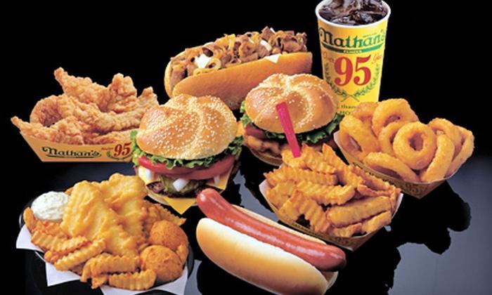 Nathan 39 s famous hotdogs and arthur treacher 39 s fish chips for Arthur treachers fish and chips
