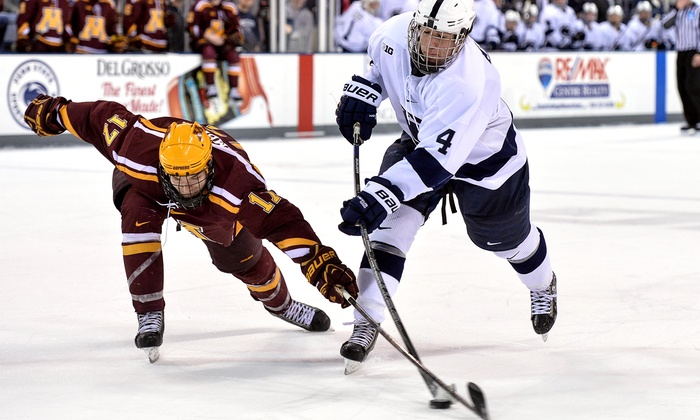 Big 10 Men's Ice Hockey Tournament - Joe Louis Arena: $19 for One Ticket to a Round of the Big Ten Men's Hockey Tournament at Joe Louis Arena, Plus a T-Shirt ($45 Value)