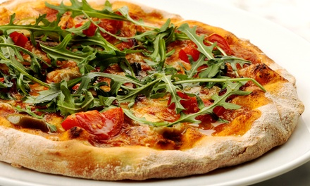 $11 for a Large Pizza at Sykora Bakery (Up to $20 Value)