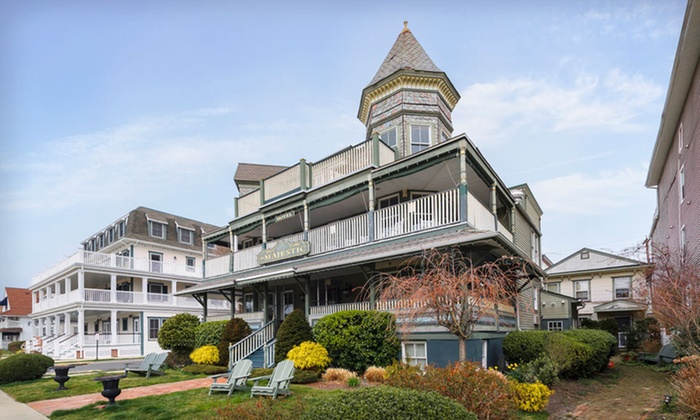 The Majestic Hotel - Neptune: One- or Two-Night Stay for Two at The Majestic Hotel in Ocean Grove, NJ