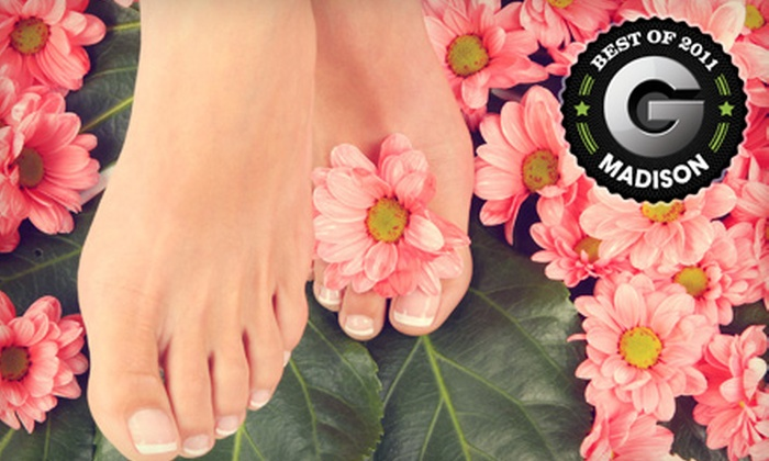 Tangles Salon & Spa - Madison: $29 for a Reflexology Pedicure at Tangles Salon & Spa in Middleton ($65 Value)