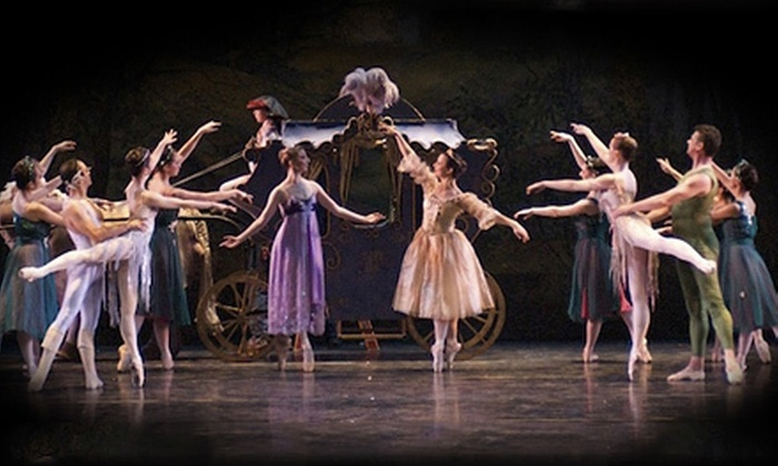 """""""Cinderella"""" presented by California Ballet - Core-Columbia: California Ballet's """"Cinderella"""" at the San Diego Civic Theatre (Up to 52% Off). Four Options Available."""