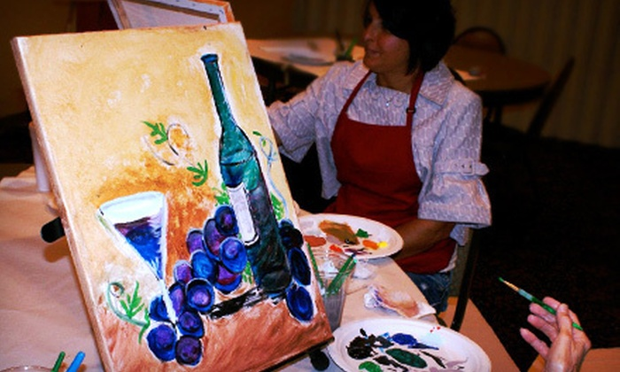 U can Paint 2 - South Bend: Three-Hour Painting Event with Supplies for One, Two, or Four from U can Paint 2 (Up to 54% Off)