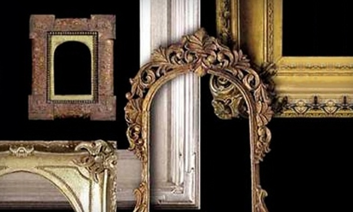 The Antique and Vintage Frame Gallery - Bywater: $45 for $110 Worth of Framing Services at The Antique and Vintage Frame Gallery
