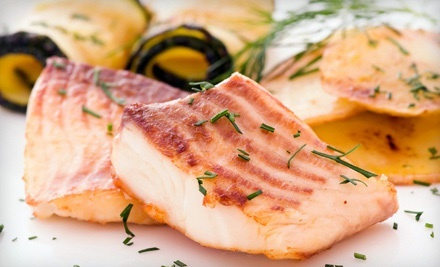 $55 for a Seafood Meal for Two at Sinbad's Pier 2 Restaurant (Up to $109.75 Value)