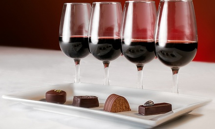 Chocolate and Wine Pairing Event at World of Chocolate Museum & Cafe (Up to 42% Off). Two Options Available.