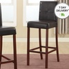 Two Tufted Modern Bar Stools