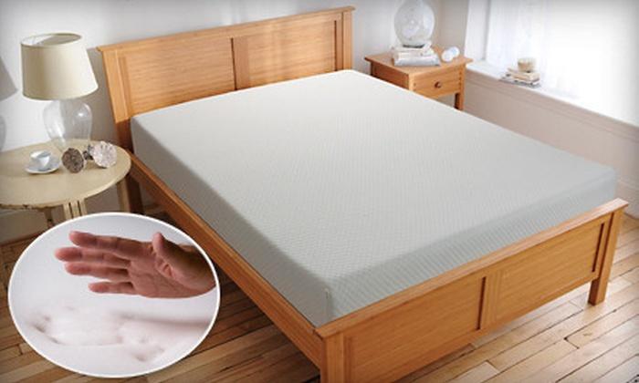 Comfort Zone Memory-Foam Mattress: Comfort Zone 10-Inch Memory-Foam Mattress (Up to 63% Off). Five Sizes Available. Shipping Included.
