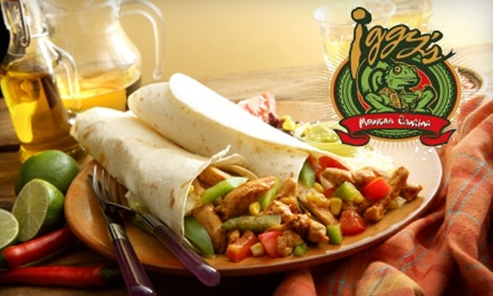 Iggy's Mexican Cantina - Saint Louis: $10 for $20 Worth of Mexican Fare and Drinks at Iggy's Mexican Cantina in Valley Park