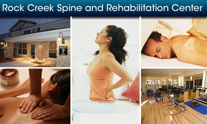 Rock Creek Spine and Rehabilitation Center - Midcities: Chiropractic Session, Massage, and More at Rock Creek Spine and Rehabilitation Center