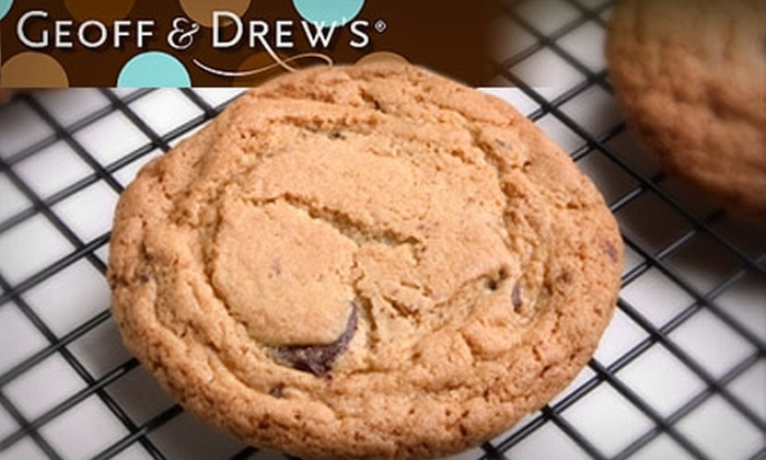 Geoff & Drew's - Omaha: $12 for $25 Worth of Delicious Cookies and Brownies from Geoff & Drew's
