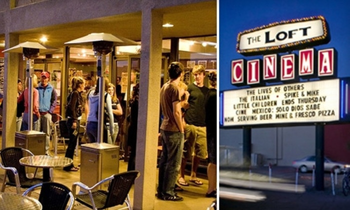 The Loft Cinema - Palo Verde: $14 for Two General-Admission Passes and Two Medium Popcorn and Soda Combos at The Loft Cinema (Up to $34 Value)