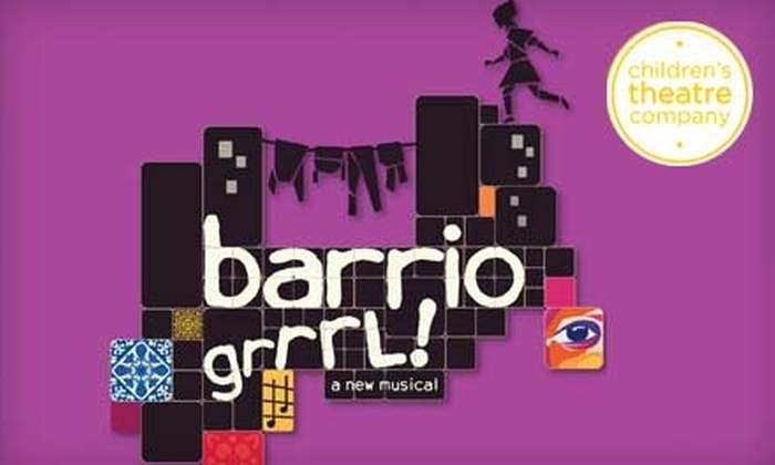 """Children's Theatre Company - Minneapolis / St Paul: $43 for Two Tickets to Children's Theatre Company's """"Barrio Grrrl!"""" (Up to $87 Value). Choose from Five Performances."""
