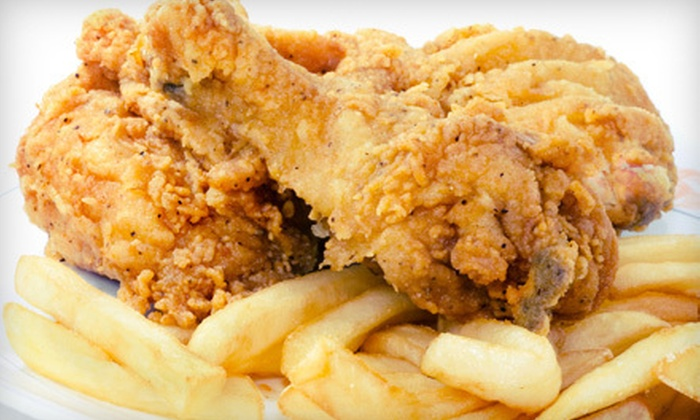 Marco Polo Bar and Grill - Georgetown: Fried Chicken, Bar Fare, and Drinks for Two or Four at Marco Polo Bar and Grill (Up to 53% Off)