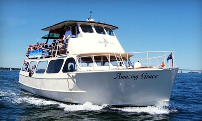"""Oldport Marine Services  - Newport: $15 for Two Tickets to """"Amazing Grace"""" Harbor Tour Cruise from Oldport Marine Services in Newport (Up to $30 Value)"""