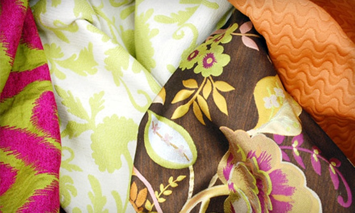 Fabulous Fabric - Springlake, University Terrace: $25 for $50 Worth of Fabric, Materials, and Home Goods at Fabulous Fabric