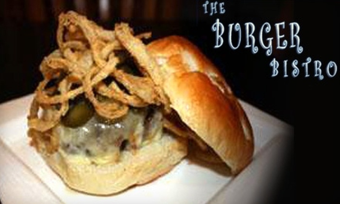 The Burger Bistro - Bay Ridge & Fort Hamilton: $10 for $20 Worth of Build-Your-Own Burgers and More at The Burger Bistro in Brooklyn