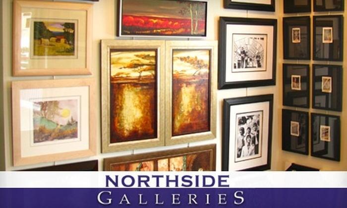 Northside Galleries - Spy Run: $40 for $90 Worth of Custom Framing from Northside Galleries