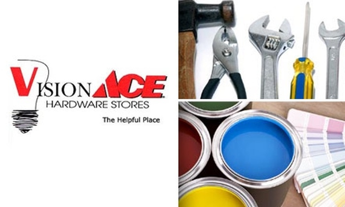 Vision Ace Hardware - Clearwater: $10 for $20 Worth of Anything You Need at Vision Ace Hardware