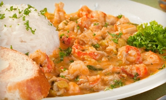 N'awlins Big Easy Bistro - South Chattanooga: Cajun-Style Meal with Entrees and Beers for Two or Four at N'awlins Big Easy Bistro (Up to 53% Off)