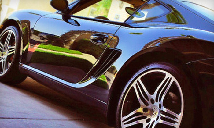 Miami Auto Spa - East Little Havana: Gold or Platinum Exterior-Detailing Service and Hand-Wash Voucher for Standard Cars at Miami Auto Spa (Up to 63% Off)