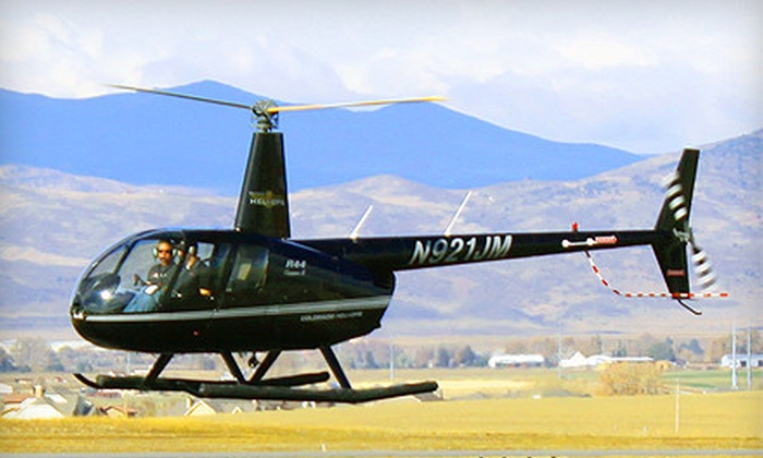 Colorado HeliOps - Northeast Jefferson: $125 for a 30-Minute Helicopter Tour and 30-Minute Flight Simulator from Colorado HeliOps in Broomfield ($375 Value