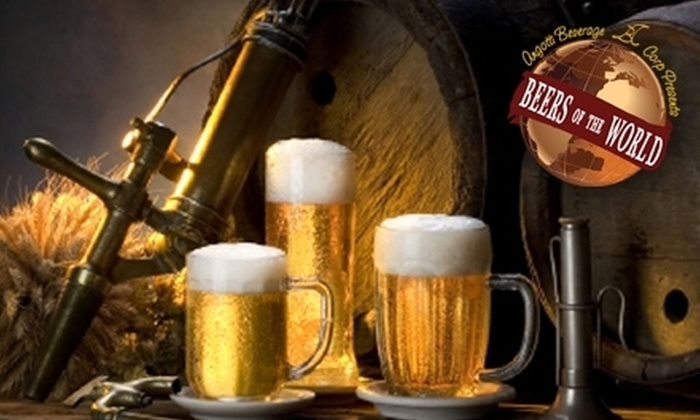 Beers of the World - Multiple Locations: $10 for $20 Worth of Imported and Domestic Beer from Beers of the World