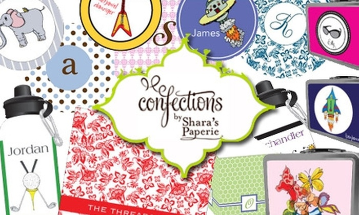 Confections by Shara's Paperie - Chicago: $15 for $30 Worth of Custom Stationery and Gifts from Confections by Shara's Paperie