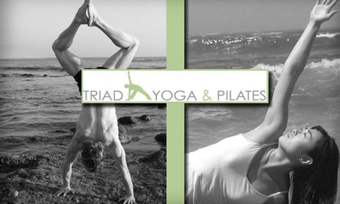 Triad Yoga - Irvine Business Complex: $25 for Five Yoga or Pilates Classes at Triad Yoga & Pilates